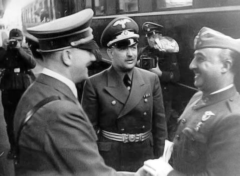 1941 - Hitler and Franco